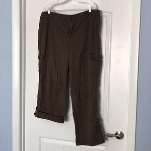 Lee convertible pants to capris
